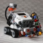 Collaboration between Simulated Model and External System: Controlling LEGO Mindstorms with Cameo Simulation Toolkit
